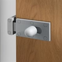 Silver Inward Opening Door Lock Body for MFC & HPL Cubicles