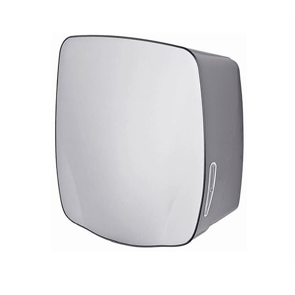 ABS Paper Towel Dispenser - Stainless Steel and Grey