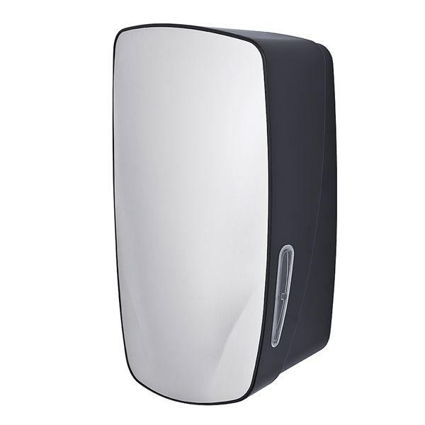 ABS Toilet Tissue Dispenser - Stainless Steel and Black