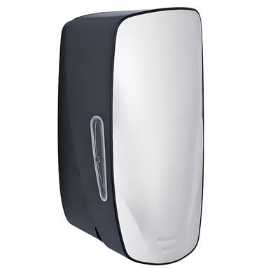 ABS Foam Soap Dispenser - Stainless Steel and Black