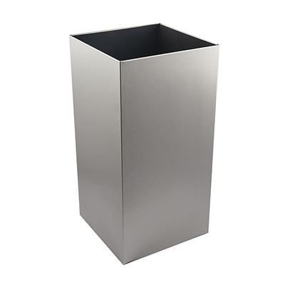 50L Paper Towel Waste Bin - Stainless Steel