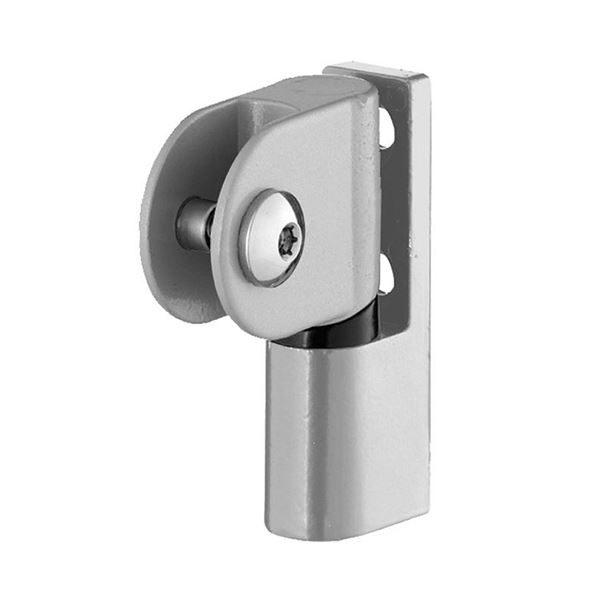 Satin Anodised Inward 13mm Cubicle Door Hinge (SGL)