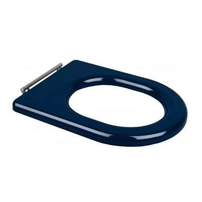 Chartham Toilet Seat Only - Blue