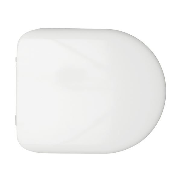 Chartham Rimless Soft Close Toilet Seat and Cover